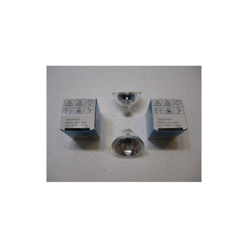 OSRAM 64634 HLX EFR 15V 150W GZ 6,35 LAMPADINA HALOGEN