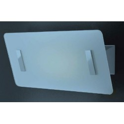 SCAMM LIGHTING MOOVE MV101.VM APPLIQUE IN ACCIAIO INOSSIDABILE COLOR MOKA