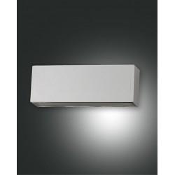 FABAS LUCE 6786-02-844 LAMPADA DA PARETE TRIGG STRUTTURA IN ALLUMINIO COLOR ARGENTO
