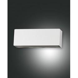 FABAS LUCE 6788-02-844 LAMPADA DA PARETE CASPER STRUTTURA IN ALLUMINIO COLOR ARGENTO