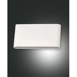 FABAS LUCE 6788-02-854 LAMPADA DA PARETE CASPER STRUTTURA IN ALLUMINIO COLOR BIANCO