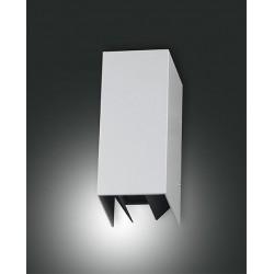 FABAS LUCE 6792-02-844 LAMPADA DA PARETE LED ZOR STRUTTURA IN ALLUMINIO COLOR ARGENTO