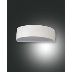 FABAS LUCE 6820-02-954 LAMPADA DA PARETE LED WAPI STRUTTURA IN METALLO E METACRILATO COLOR BIANCO