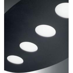ROSSINI ILLUMINAZIONE BUB001B BUBBLES LAMPADA A SOFFITTO CON SORGENTE LED IN ALLUMINIO VERNICIATO