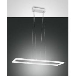 FABAS LUCE 3394-45-102 SOSPENSIONE BARD LED DIMMERABILE 52W 4680lm BIANCO L92X32 cm