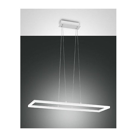 FABAS LUCE 3394-45-102 SOSPENSIONE BARD LED DIMMERABILE 52W 4680lm BIANCO L92X32 cm