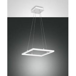 FABAS LUCE 3394-40-102 SOSPENSIONE BARD LED DIMMERABILE 39W 3510lm BIANCO L42X42 cm