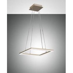 FABAS LUCE 3394-40-225 SOSPENSIONE BARD LED DIM 39W 3510lm ORO OPACO L42X42 cm