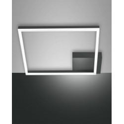 FABAS LUCE 3394-61-282 PLAFONIERA BARD LED DIMMERABILE 39W 3510lm ANTRACITE L42X42 cm