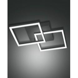 FABAS LUCE 3394-22-282 PLAFONIERA BARD LED DIM 39W 3510lm ANTRACITE L45x45 cm